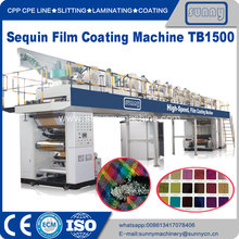 High Speed PET Sequin film Coating Machine